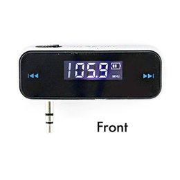 handys telefone indien Rabatt 3,5 mm Mini Auto FM Transmitter Kit Musik FM mit USB-Kabel-Bildschirm für Mobiltelefone (schwarz)