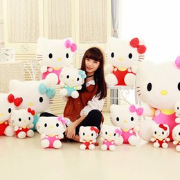 Wholesale Stuff For Girls - 20cm Kawai hello kitty plush toys High-quality Stuffed dolls for girls kids toys gift action & toy figure & hobbies