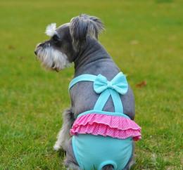 Wholesale Large Jumpsuit - 2016 new Pet Dog Cat Clothes Cotton Fashion Suspender Pants Physiological Underwear PetsTighten Sanitary Briefs Jumpsuits Pants