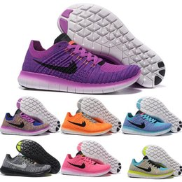 Wholesale Cheap Light Up Shoe Laces - 2016 Cheap New Running Shoes RN Flyline 5.0 Men Women Sneakers High Quality Discount Walking Runs Sports Shoes Size 5.5-11 Free Shipping
