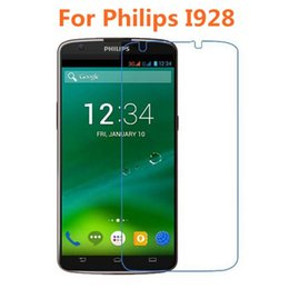 Wholesale Philips Quality - Wholesale-For Philips Xenium I928 Tempered Glass Original High Quality Protective Film Explosion-proof Screen Protector for Philips I928