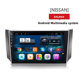 Wholesale Nissan Sylphy Dvd - For NISSAN SYLPHY Car dvd Gps Cortex A7 quad core 1.6G HZ 10.2inch Android Version 4.4.2 Wifi OBD DVR