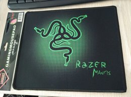 Wholesale Mouse Mantis - Razers 250*210*2mm Mantis Gaming Game Mouse Pad Mat Speed Edition Medium locking Edge Mouse Mat Speed Version