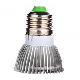 espectro completo crece la luz 18W E27 LED plantas que crecen crece la lámpara, lampara llevó cultivo, llevó la lámpara de planta de flor hidropónico E5M1 tr orden $ 18Nadie desde fabricantes