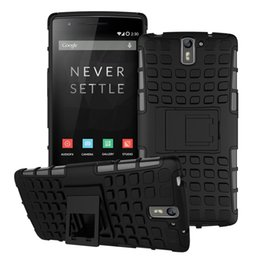 Wholesale Two Phones One Case - Hybrid Case for OnePlus One OnePlus Two OnePlus X Mobile Phone TPU + PC Back Protective Cover