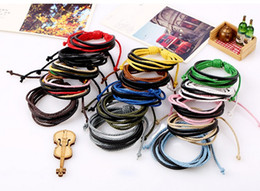 Wholesale Hand Chain Bracelet For Women - colorful rope girls bracelet Bracelets for Women And Girls colorized rope bracelets random mixed color handmade jewelry Hand woven bracelet