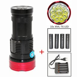 KC Yangın 10000 lümen ışık Kral 10T6 LED flaş 10x XM-L T6 LED El Feneri Torch Lamba Işık Avcılık Kamp Için nereden hafif kral tedarikçiler