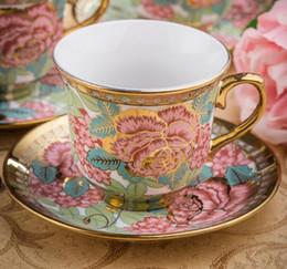 Wholesale Chinese Porcelain Mug - European Afternoon tea cups set,Ceramic Coffee Mug Porcelain Suit Include 1 Cup 1 saucer.Creative Chinese Tea set coffee cup