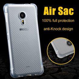 Wholesale M2 Pro - air sac anti knock case for Meizu M3 note M2 note MX6 MX5 Pro 6 5 M3 M5 U20 thick TPU material cover
