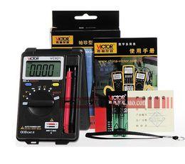 Wholesale Digital Multimeter Free - free shipping High Quality victor badminton DMM Integrated Personal Handheld Pocket Mini Digital Multimeter VICTOR VC921
