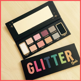 Wholesale popular eye shadow - Factory Direct DHL Free High qualiry Popular faced Glitter Bomb Prismatic Glitter Eye Shadow Palette Eye Shadow makeup in stock