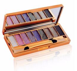 Wholesale Glitter Colours - NEW ARRIVAL 9 Colours Eyeshadow Eye Shadow Palette Makeup Kit Set Make Up Pro Box BLING BLING