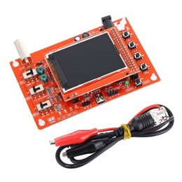Wholesale-DSO138 Digital Oscilloscope DIY Kit DIY Parts for Oscilloscope Making Electronic diagnostic-tool Learning osciloscopio Set 1Msps Deals