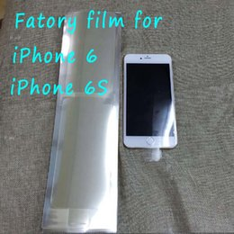 Wholesale Iphone Factory Protector - For iPhone 6s iphone 6 Factory film new phone film Screen tape front and back protector sticker strip membrane