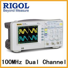 Wholesale benchtop oscilloscope - Rigol DS1102E 100MHz Universal Digital Oscilloscope Sold with RP2200 Passive Oscilloscope Probes
