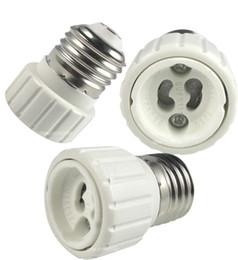 Wholesale E27 Screw Base - E27 to GU10 Base Screw Light Lamp Bulb Holder Adapter Socket Converter E27 To GU10 Lamp Holder Converters