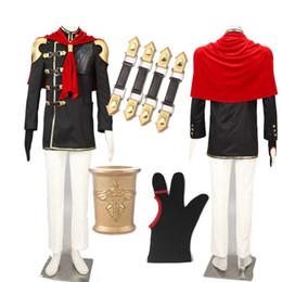 32da007a7d Luxury Suzaku Class Zero Trey Cosplay Costume Final Fantasy Type-0 Game  Halloween Whole Set Unisex Outfit