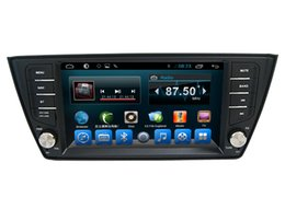 Wholesale Volkswagen Amarok - Touch Screen Unit for VW Fabia 2015 Car Dvd Media Navigation System Quad Core Android
