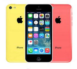 "Wholesale Original Iphone 8gb - 2016 Hot Sale Original Apple Iphone 5C phone 4.0"" Dual Core 8MP 5 Color Available IOS 8gb 16gb 32gb refurbished cellphone"