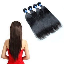 Wholesale Great Remy Hair - 8A straight weave peruvian 4 pcs hair great lengths hair extensions BEST 8A Straight Virgin Human Hair Can Be Dyed and Bleache