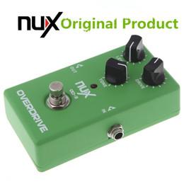 2019 e-gitarre verzögerung effekte pedal Original Produkt NUX OD-3 Overdrive E-Gitarre Effektpedal Ture Bypass Grün Hochwertige Gitarren Effektpedal Gitarre Teile Zubehör