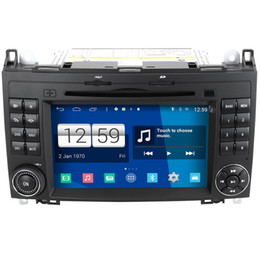 Wholesale Mercedes Sprinter - Android 4.4 System Car DVD GPS Headunit Sat Nav for Mercedes Benz Sprinter W906 2006 -2012 with S160 Car Radio