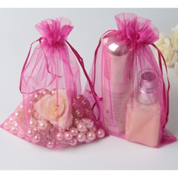 "Wholesale Christmas Groceries - Organza Gfit Bags 15x20cm( 6""x8"") Birthday Party Wedding Favor holder Makeup soap Grocery wigs Hair Jewelry Drawstring Pouch"