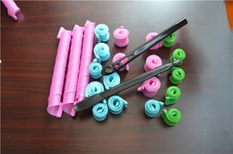 Wholesale Curlers For Perm - 2016 DIY Magic Leverag Hair Curler Roller Magic Circle Hair Styling Rollers Curlers Leverag perm Hair Products for Hair Care Curling Styling