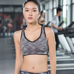 Wholesale Sexy Clothes For Women Sleep - Wholesale-Women new Sexy High-end Yoga Shirts Sport Bra Top Comfortable Push up For Yoga Sports Sleep Fitness Clothing female