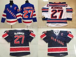Men s Ryan McDonagh Jersey New York Rangers Jersey McDonagh Jersey  27  Hockey Jerseys Dark Blue White NY Rangers Stitched 0e463d247