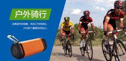 Bluetooth earson on-line-Earson À Prova D 'Água Bluetooth Speaker Handsfree Sem Fio Portátil Alto-falantes Suporte TF Cartão e AUX Com Mic Enceinte Para Bicicleta ER160