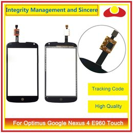 "Wholesale Lg Nexus Glass - High Quality 4.7"" For LG Optimus Google Nexus 4 E960 Touch Screen Digitizer Outer Glass Lens Panel"