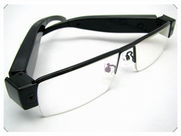 Wholesale Usb Spy Digital - V13 SPY 1080P Full HD Digital Video recorder Glasses Camera Eyewear DVR Camcorder hot Eyeglass mini DV USB Disk PC webcam video camcorder