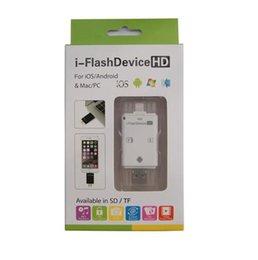 Wholesale Ipad4 Usb - Upgrade iphone6 5 s cell phone camera kit android computer card reader iPad4 5 TF SD card reader