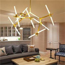Wholesale Italian Pendant Lighting - Modern Hill Agnes Lighting Minimalist Art Decoration Branch Agnes Light Famous Italian Lamp Design Living Room Agnes Chandelier