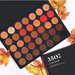 palette nature Promo Codes - Hot sales makeup Palette!!35colors Eyeshadow Palette 35O2 second Nature Cream Pressed Eyeshadow Palette DHL 660214