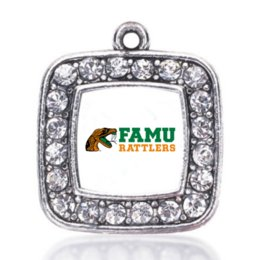 Wholesale Sports Team Jewelry - NEW fashion COLLEGE pride Florida A&M Rattlers SPORT team charm antique silver plated jewelry