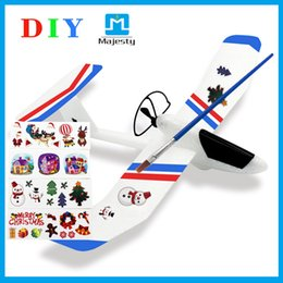 Wholesale Epp Planes - Christmas Gifts App Control the Lightest Glider Airplane EPP Material diy plane for Kids DHL Free Shipping