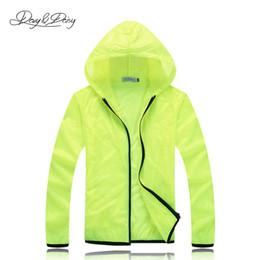 Wholesale Wholesale Polyester Jackets - Fall-Light Sport Coat Hooded Waterproof Sportswear Unisex Solid Jacket Transparent Sunscreen Coat Quick-Drying Windbreaker DCT-012