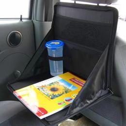 Wholesale Laptop Bag Desk - Wholesale-Car laptop holder car computer desk mount grocery bags notebook stand folding Computer Rack Multifunctional Dining Table