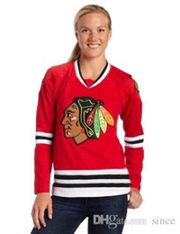 Wholesale Womens Sweatshirts Xxl - 2016 New Womens 88 Patrick Kane Chicago Blackhawks Jersey Sweatshirts All Stitched Logos Red Best quality Cheap Ice Hockey Hoodies