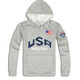 Wholesale Men S Fashion Usa - Wholesale-2016 Fashion brand autumn winter Men Hoodies Mens Hip Hop USA Basketball Sweatshirts men 4 Colors blusa masculina ding