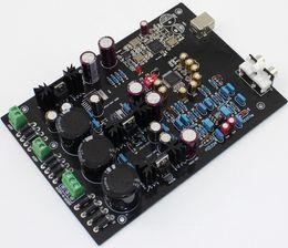 Wholesale Usb Dac Board - Freeshipping Assembled XMOS U8 + AK4495SEQ + AD827 DAC USB decoder board Support 32BIT 768K LT1963-3.3