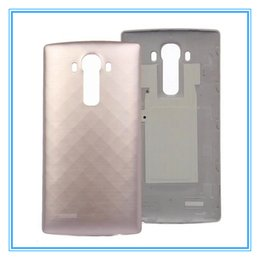 Wholesale Nfc Case - New Battery Door Cover for LG G4 H815 VS986 H810 H818 Rear Back Cover Housing Case With NFC Chip Replacement Parts High QualityFree Shipping