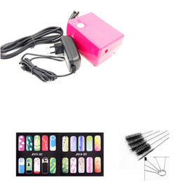 Wholesale Air Brush Nail Kit - Airbrush Set Kit Pen Body Paint Makeup Spray Gun for Nail Paint with 5*Cleaning Brush,1*Air Compressor, 1*Horse,2*Stencil