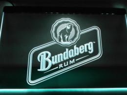 Wholesale Cheap Light Signs - LE208- Bundaberg rum LED Neon Light Sign home decor crafts Cheap craft companies