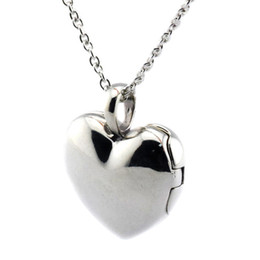 Wholesale Lampwork Cross Pendants - Love Locket Heart Pendant 2016 Summer 100% 925 Sterling Silver Necklace Fit Pandora Necklace Fashion Jewelry Charm Brand