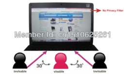 Wholesale Cheap Screens For Laptops - M Privacy Screen Film For 15.6'' inch Widescreen (16:9) LCD Screen Laptop Notebook Desktop Computer Monitor LCD Monitors Cheap LCD Moni...