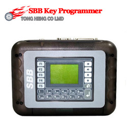 Wholesale Silca Key Maker - Wholesale-Top-Rated SBB KEY Programmer SBB Silca V33.02 SBB Key Programmer Immobilizer Auto Key Programmer Key Maker Transponder