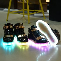 Wholesale Colorful Sneakers For Women - Led Shoes 2016 Light Up Shoes Colorful Casual Sneakers for Men Women Running Shoes New Arrival Luxury Brand Ladies Children Walking Shoes